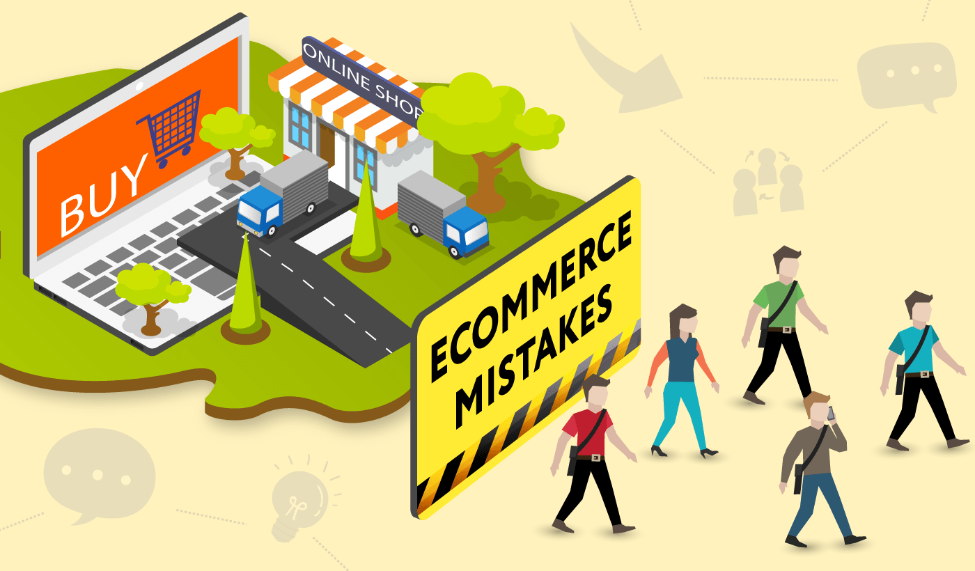 Ecommerce Mistakes That Make Your Users Abandon Your Website
