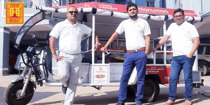 Patna-based Hanuman is working to ensure emergency healthcare reaches patients in time